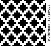 simple aztec pattern background. | Shutterstock .eps vector #537189373