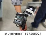 Small photo of The lux meter for measuring illuminance from lighting in workplaces