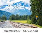 Alaska Railway To Seward Along...