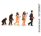 From Ape To Man Standing...
