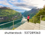 tourism vacation and travel.... | Shutterstock . vector #537289363