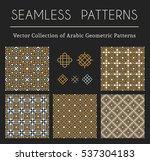 seamless textures collection... | Shutterstock .eps vector #537304183