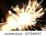 christmas sparkler  holiday ... | Shutterstock . vector #537348457
