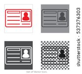 cd card set icons with four...