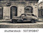 havana  cuba  dec 15  2016 ... | Shutterstock . vector #537393847