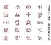 outline illustration of  vector ... | Shutterstock .eps vector #537491527