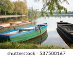 colorful boats | Shutterstock . vector #537500167