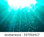 Deep Water Bubbles Blue Color...