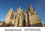 the abbey church of saint peter ... | Shutterstock . vector #537509203