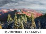 cold autumn in precarpathians.... | Shutterstock . vector #537532927