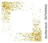 square corner gold frame or... | Shutterstock . vector #537540463