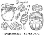 Honey Jar  Barrel  Spoon  Bee ...