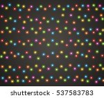 fairy lights for festive... | Shutterstock .eps vector #537583783