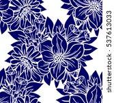 abstract elegance seamless... | Shutterstock . vector #537613033