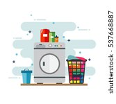 washing | Shutterstock .eps vector #537668887