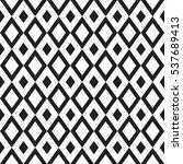 geometric rhombus seamless... | Shutterstock .eps vector #537689413