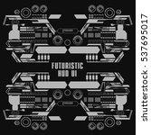 futuristic black and white...