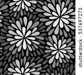 seamless vector pattern with... | Shutterstock .eps vector #537697273