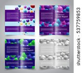 brochure design templates set...   Shutterstock .eps vector #537759853
