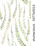 hand painted watercolor allover ... | Shutterstock . vector #537765013