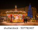bucharest  romania   december... | Shutterstock . vector #537782407