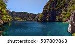 coron island  phllipines  ... | Shutterstock . vector #537809863