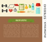 healthy lifestyle template
