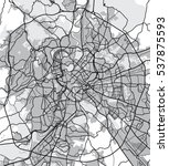black   white vector map of...   Shutterstock .eps vector #537875593