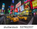 new york city   december 22 ... | Shutterstock . vector #537902557