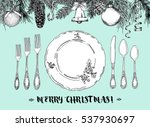 hand drawn illustration of... | Shutterstock .eps vector #537930697