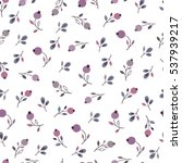 seamless floral pattern with... | Shutterstock .eps vector #537939217