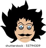 Enjoyable Crazy Hair Free Vector Art 1039 Free Downloads Hairstyles For Women Draintrainus