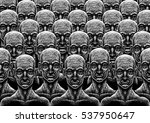 background with many peoples... | Shutterstock . vector #537950647