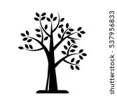 tree icon vector illustration | Shutterstock .eps vector #537956833