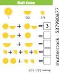 mathematics educational game... | Shutterstock .eps vector #537980677