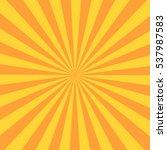 retro sunburst ray in vintage... | Shutterstock .eps vector #537987583