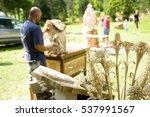 sutrio  italy  2009. wood... | Shutterstock . vector #537991567