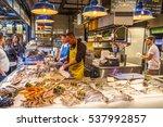 tel aviv   november 25  fish... | Shutterstock . vector #537992857