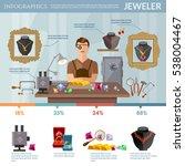 professional jeweler... | Shutterstock .eps vector #538004467