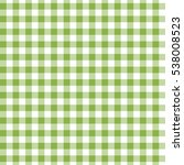 green seamless gingham and...