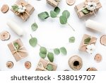 creative arrangement frame of... | Shutterstock . vector #538019707