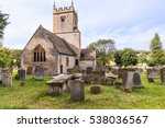 Old English Church And...