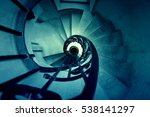 Old Spiral Staircase   Detail...
