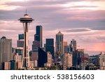 Seattle Skyline Seen From Kerr...