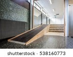 next to the stairs  there is a... | Shutterstock . vector #538160773