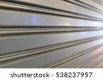 stee roller shutter door   Shutterstock . vector #538237957