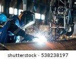 tube welding   Shutterstock . vector #538238197