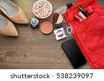 women's accessories. concept of ... | Shutterstock . vector #538239097