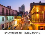 pubs and bars with neon lights... | Shutterstock . vector #538250443