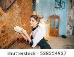beautiful sensuality elegance... | Shutterstock . vector #538254937